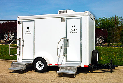 almost like home restroom trailers - Mobile Bathroom