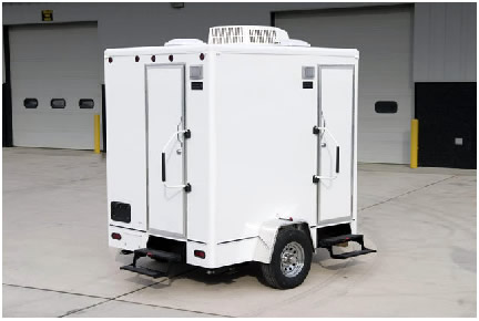 The PoraLisa Restroom Trailer For Rent Perfect For Small Occassions - Bathroom trailer rental cost