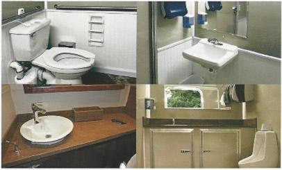 The Ultralav Ada Compliant Handicapped Accessible Restroom Trailer Rentals