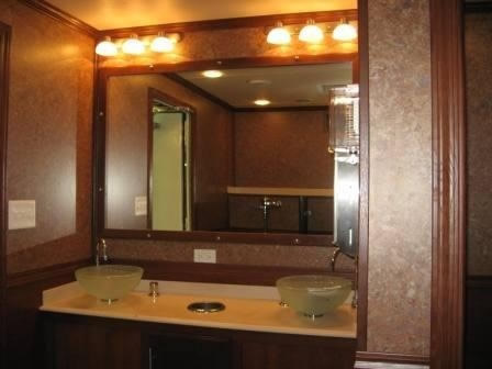 The Fancy Four Station Restroom Trailer At Almost Like